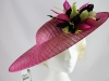 J.Bees Millinery Multi Coloured Saucer